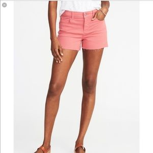 New Old Navy Women's Pop Color Cutoff Shorts 16